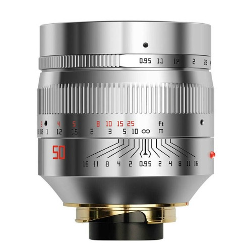 신품 TTArtisan M-50mm f/0.95 DJ-Optical Silver