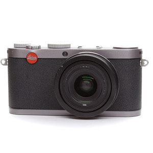 Leica X1 steel grey + Eveready case + Handgrip