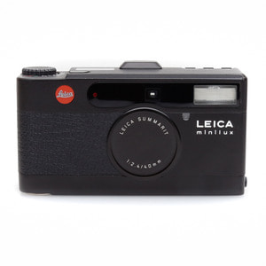 Leica Minilux Black with case