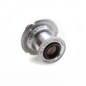 Leica L-50mm f/3.5 Red-Elmar Silver