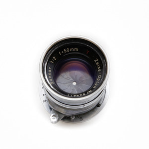 Carlzeiss Opton 50mm f/2 Sonnar Silver