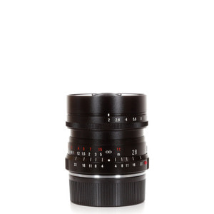 Voigtlander M-28mm f/2 Ultron Black