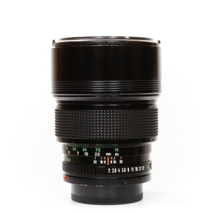 Canon FD 135mm f/2 Black