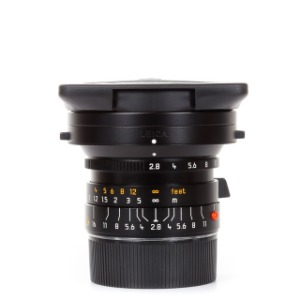 Leica M-24mm f/2.8 Elmarit ASPH Black