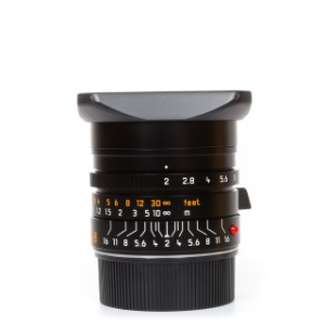 Leica NEW Summicron M-28mm f/2 ASPH 6bit Black