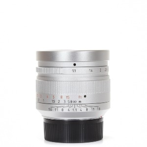 7Artisans M-50mm F/1.1 DJ-Optical Silver