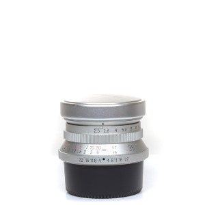 Voigtlander L-35mm F/2.5 Color-Skopar MC Silver