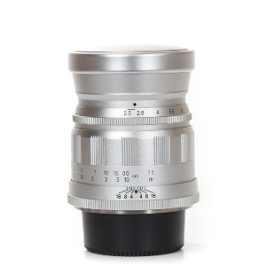 Voigtlander L-75mm f/2.5 Color-Heliar Silver