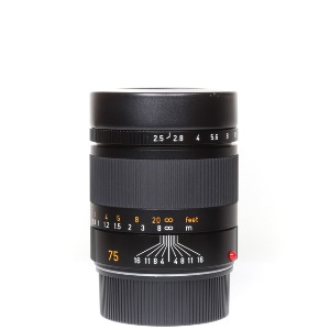 Leica M-75mm F/2.5 Summarit 6bit Black