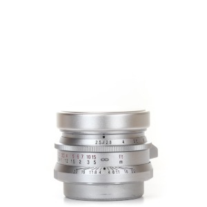 Voigtlander L-50mm f/2.5 Color-Skopar Silver