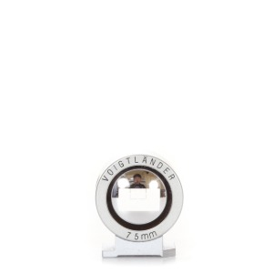 Voigtlander 75mm finder Silver