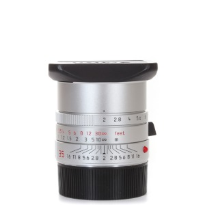 Leica M-35mm f/2 Summicron ASPH 6bit NEW Silver