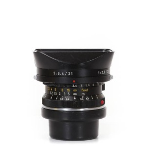 Leica M-21mm f/3.4 Super-Angulon Black