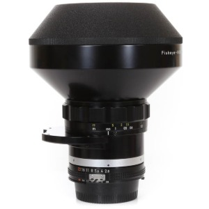Nikon F-8mm f/2.8 Fisheye-Nikkor Black