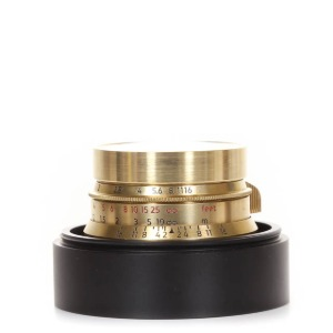 신품 Light Lens LAB M-35mm f/2 (8 element) Brass